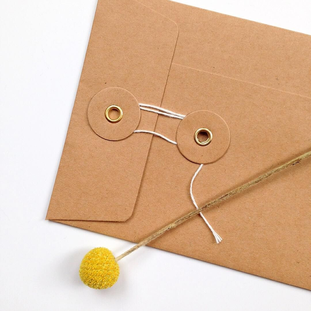 Fancy adding a little something extra to your wedding stationery? How about a fancy envelope? I love these loop tie ones. Ask about envelope options for your wedding stationery!    #paperarrowpress