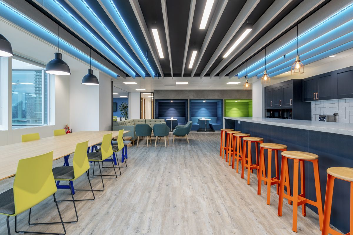 The office design of their previous premises had been