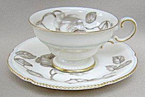 Castleton Gloria Cup & Saucer - Footed