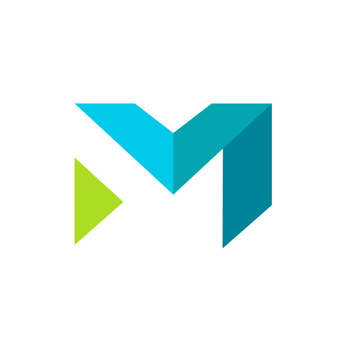 Gometro Logo South Africa Letter M Logo Arrow Design Logo Single Letter Logo