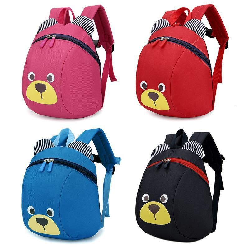 abc338d0df3 Cartoon Children Backpack Cute Anti-lost Bag With Traction Rope en ...