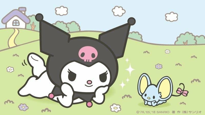 Cute Wallpapers With 0424 On It Kuromi Sanrio Wallpaper Sanrio Sanrio Characters