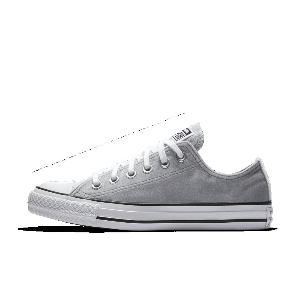 e316ac9b98b8 Converse Chuck Taylor All Star Velvet Low Top Women s Shoe Size ...