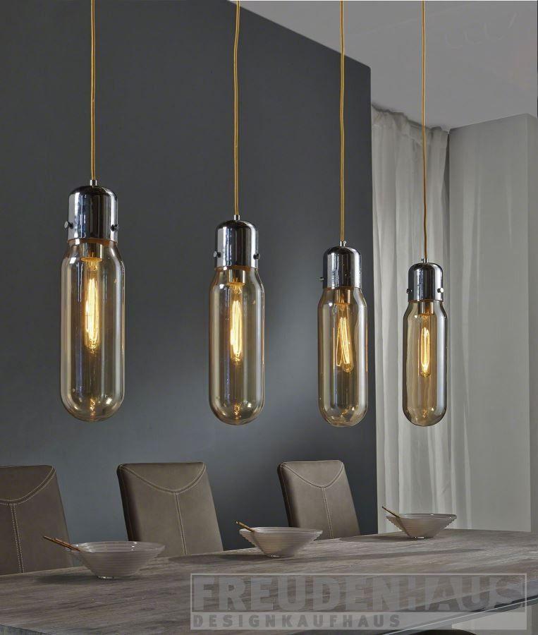 Ausgefallene hängelampen  Hängelampe Bulb 4 Zylinder mit Glühfadenlampen Edison | Zylinder ...