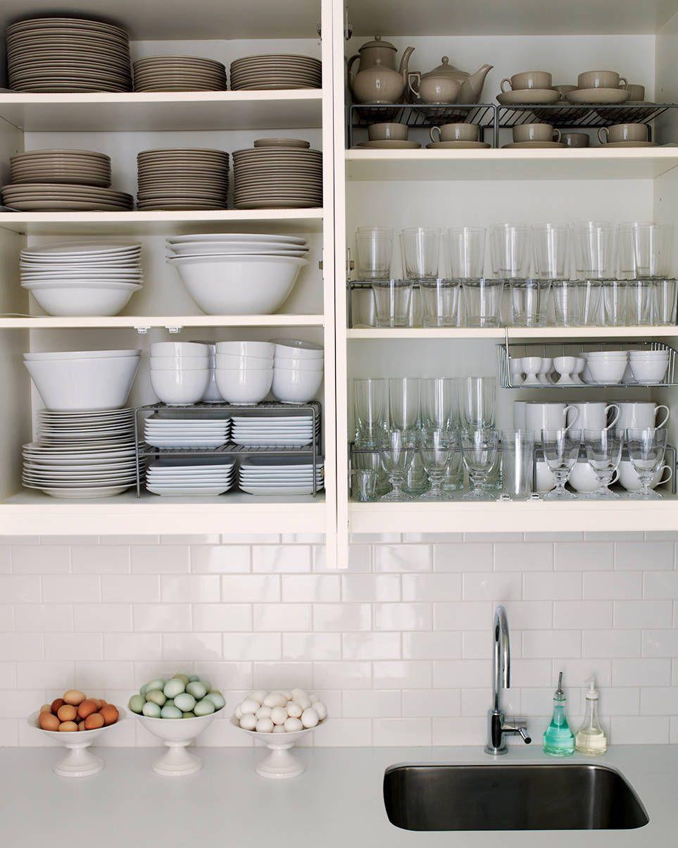 Pin On Kitchen Open Shelves