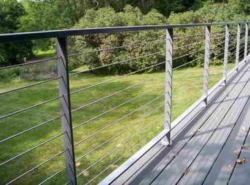Patio Steel Cable Guardrail Ultra Tec Cable Railing By