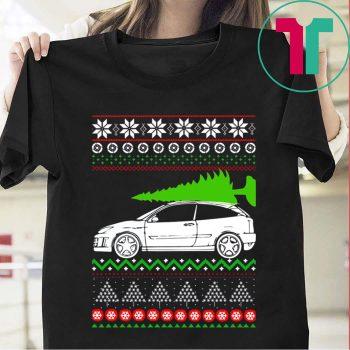 Christmas Ford Focus Rs T Shirt Co Hinh ảnh