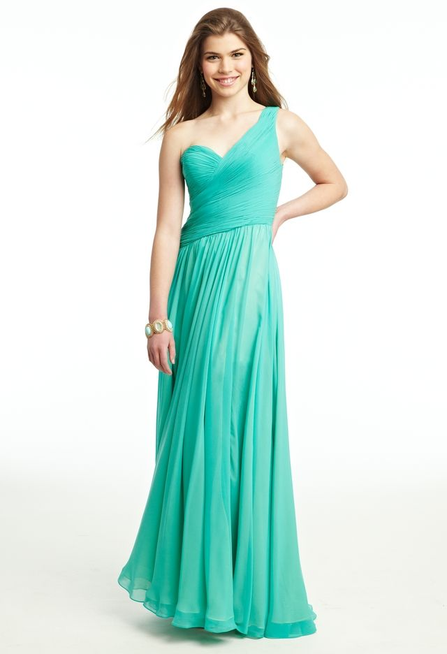 Chiffon Two Tone Dress From Camille La Vie And Group Usa Dresses