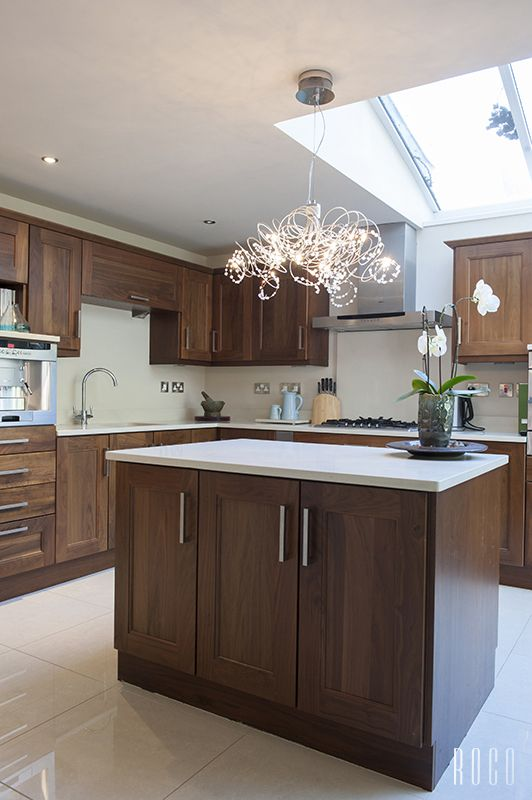 dark wood cabinets with white countertops maybe go with a duller cabinet like these not the on kitchen cabinets not white id=52528