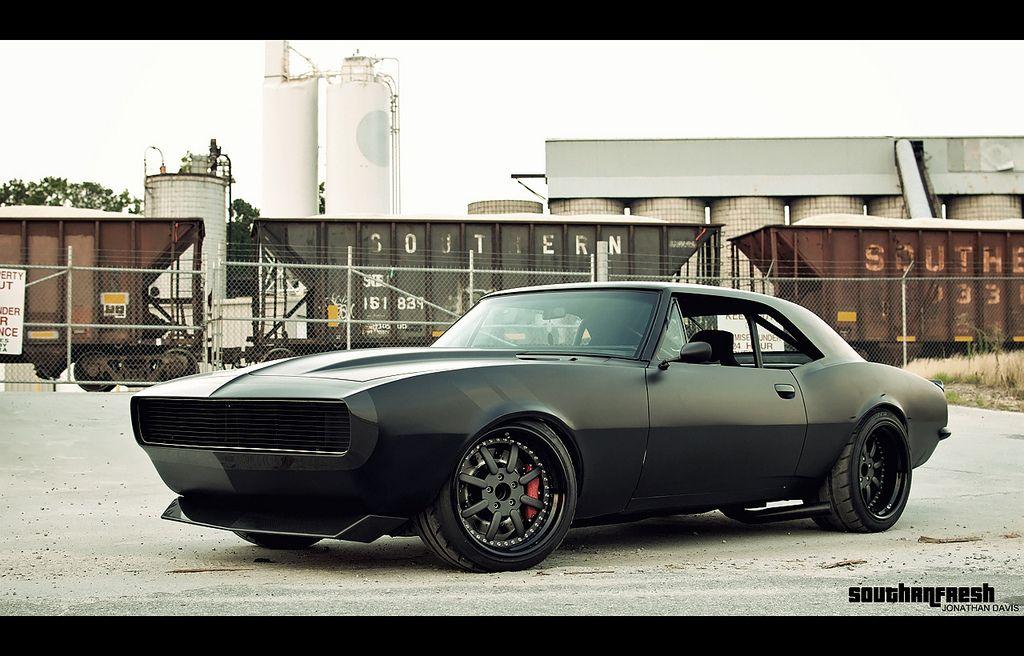 Quot Vengeance Quot Custom 67 Camaro Ss Flat Black By Totem I