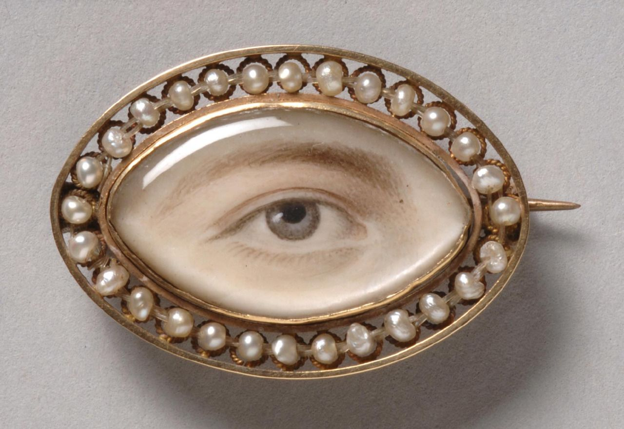 Portrait of a Right Eye, c. 1800, England