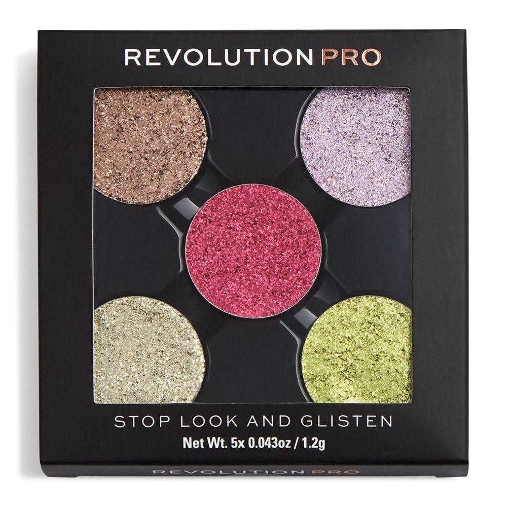 Revolution Pro Refill Pressed Glitter Eyeshadow Pack