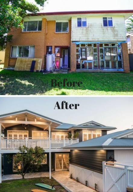 House Exterior Before And After Residing 39+ Ideas