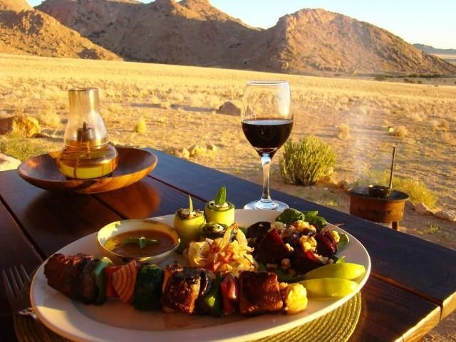 What food to eat in Namibia.  Click here to read the whole story
