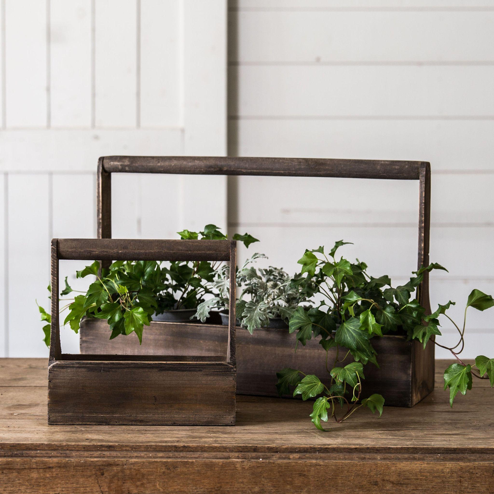 Wood Planter Basket Regular price 1000 small