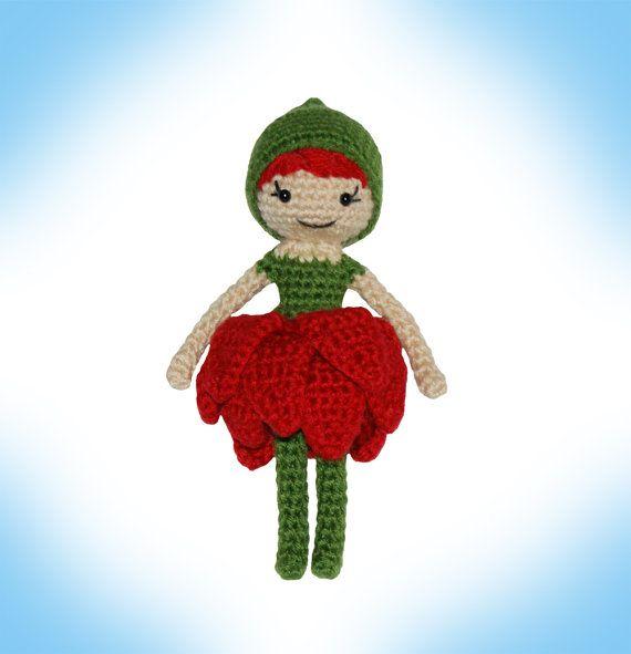 Crochet Pattern-- Blossom Pixie Doll --Crochet Pattern | Crochet ...