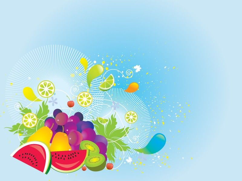 Fresh Vegetables Ppt Backgrounds Fon Ppt Mixed Fruit