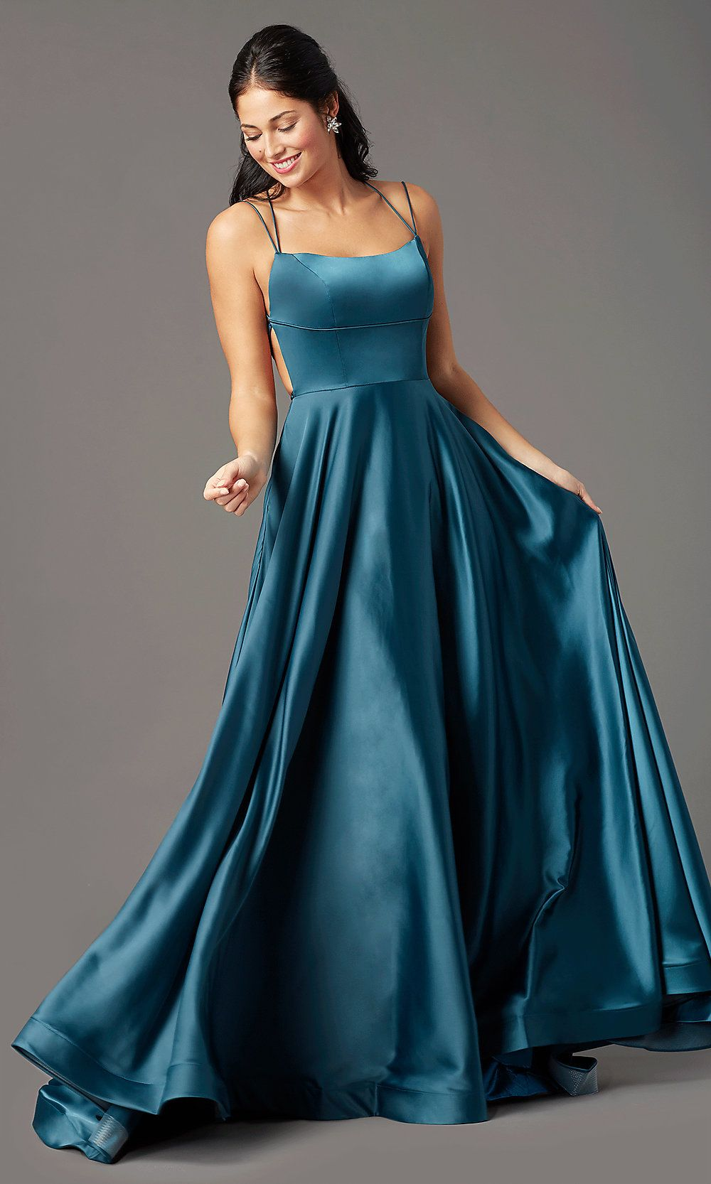 Square Neck Long Formal Prom Dress By Promgirl Formal Prom Dresses Long Pretty Prom Dresses Cute Prom Dresses [ 1666 x 1000 Pixel ]