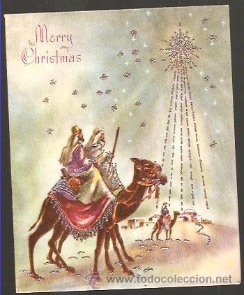 Felicitaciones De Navidad Con Los Reyes Magos.Felicitacion Navidad Inglesa Reyes Magos Foto 1