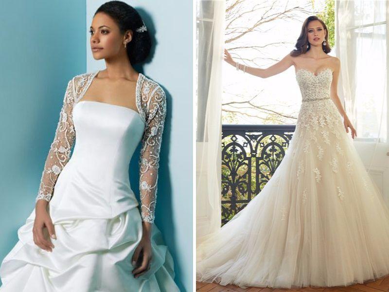Wedding Dress Shopping 101 White Versus Ivory Wedding Dresses