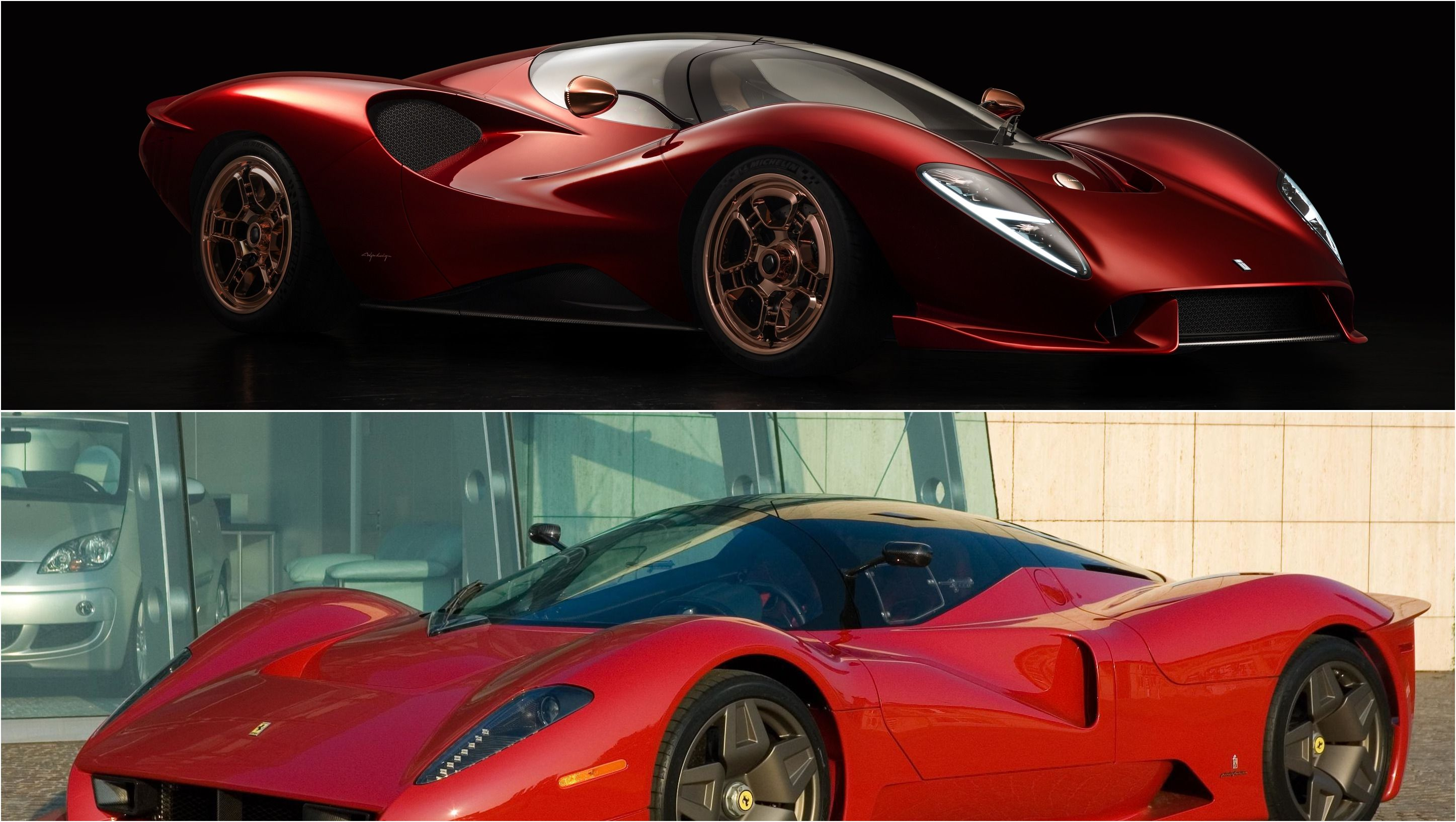 2020 De Tomaso P72 Versus 2005 Scg P4 5 Ferrari Racing New Cars Historic Racing