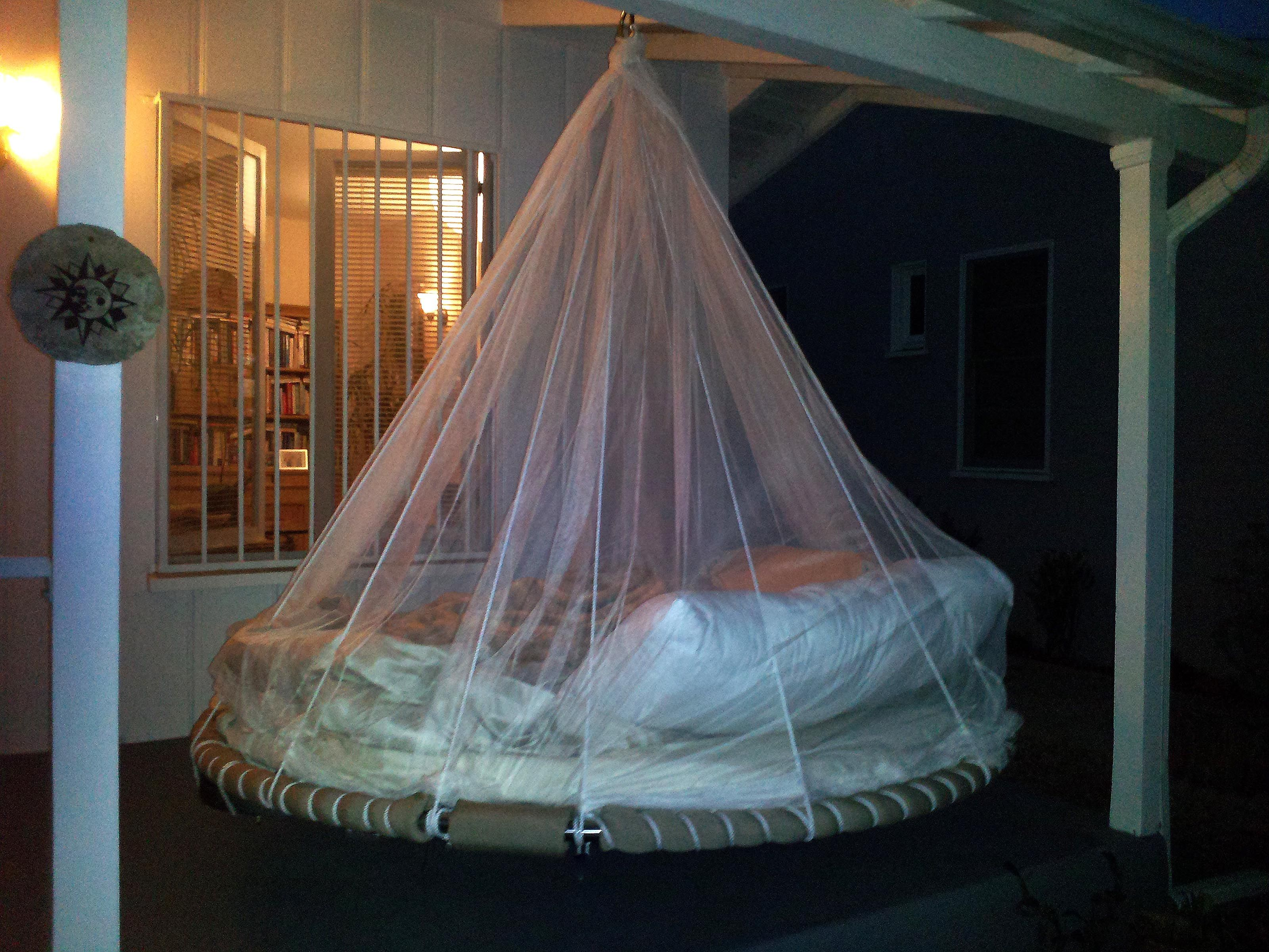 Sleep On Your Porch In A Floating Bed How Cool Is This