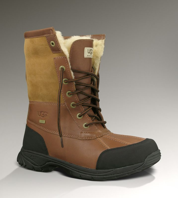 Mens UGG Butte 5521 Boots Chestnut