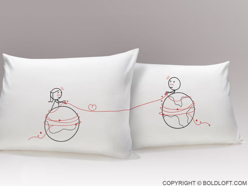 You\u0027re Worth Every Mile™ Couple Pillowcases & 25+ unique Couple pillowcase ideas on Pinterest | Couples wedding ... pillowsntoast.com