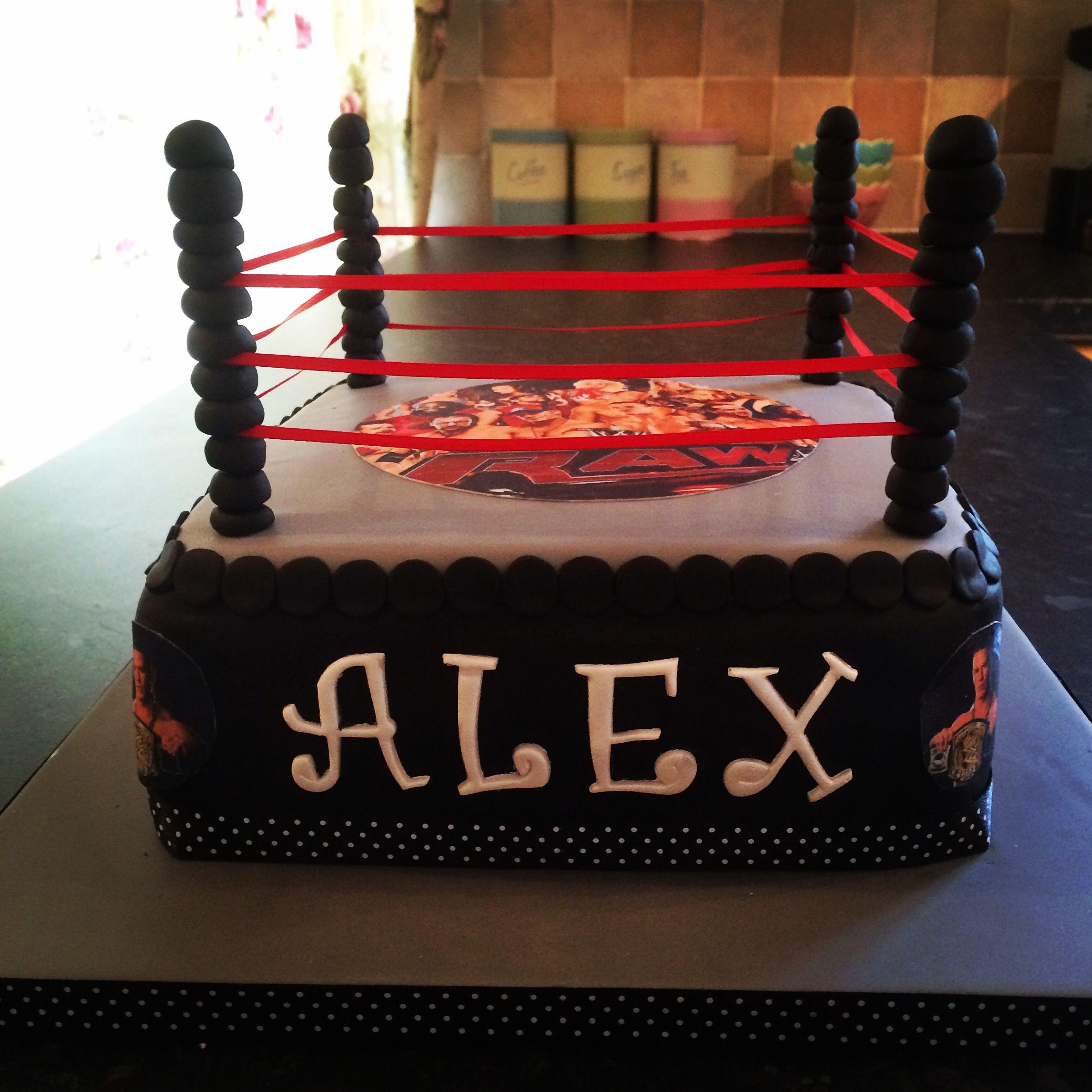 Wwe birthday cake wrestling cake wwe birthday cakes