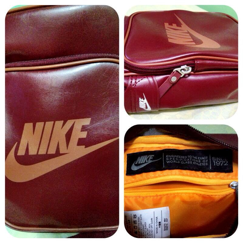 Maroon - Orange Nike Heritage Sling Bag (Collection)   Sporty Chic ... 58e0520c33
