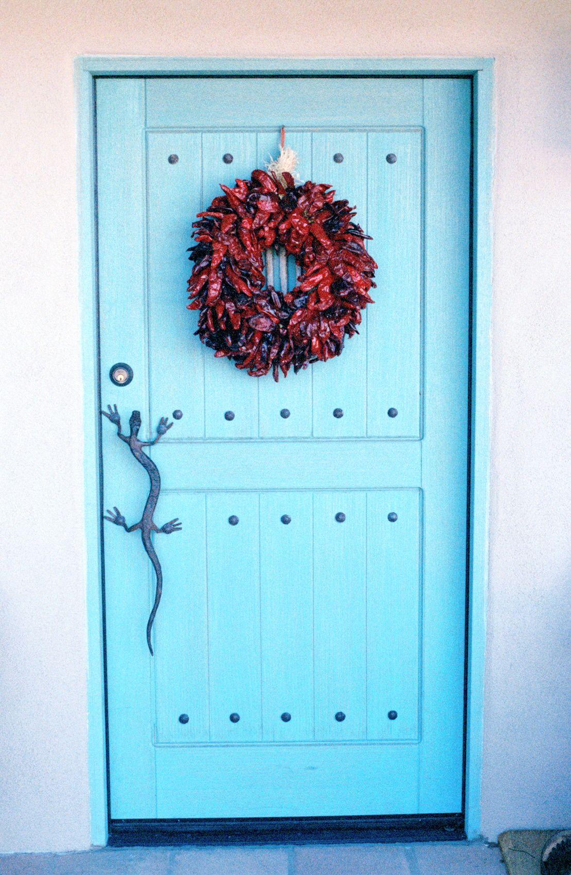 Our Front Door In Tucson Gecko Door Pull Designed By