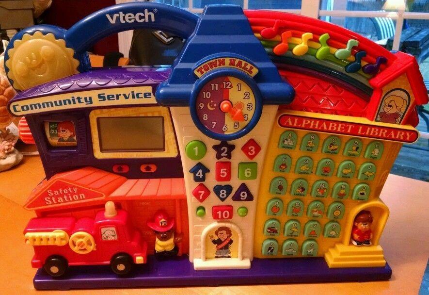 Alphabet Learning Toys : Vtech learning toy community service abc library safety station