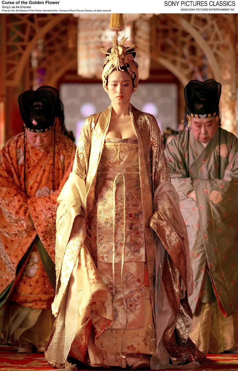 """In their latest movie, """"Curse of the Golden Flower,"""" the"""