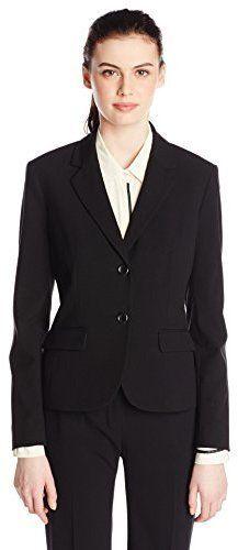 1437f780de6 Nine West Women's 2 Button Bi Stretch Notch Suit Jacket   Products ...