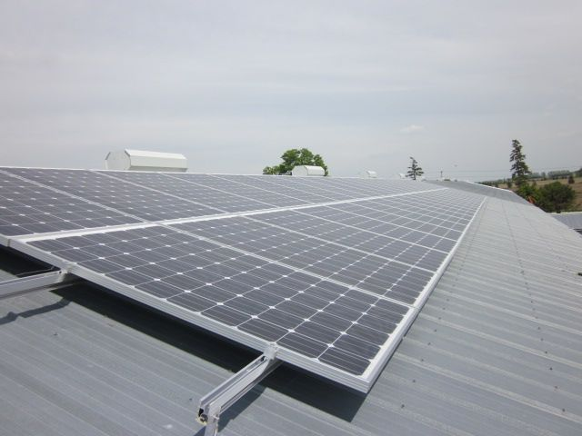 Grasshopper Solar Seaforth 9 87kw Barn Roof Flush Mount Solar Panel System Solar Power System Roof Solar Panel Solar