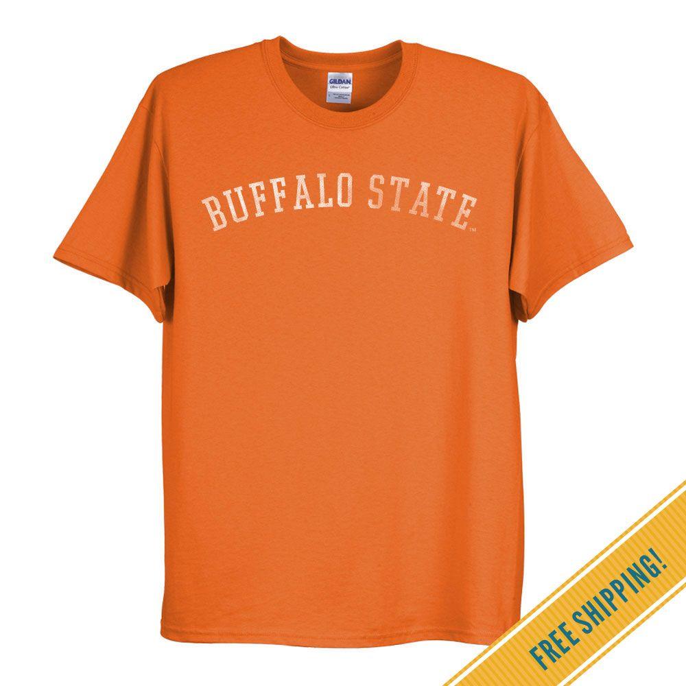 Buffalo state college classic tee in orange college