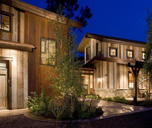 Corrugated Metal Design Ideas Pictures Remodel And Decor Metal Building Designs House Exterior Exterior Design