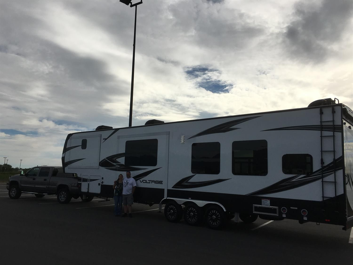 Stephen & karla, we appreciate your business!  Thanks from all of us here at Sierra RV and Terry Sargent!