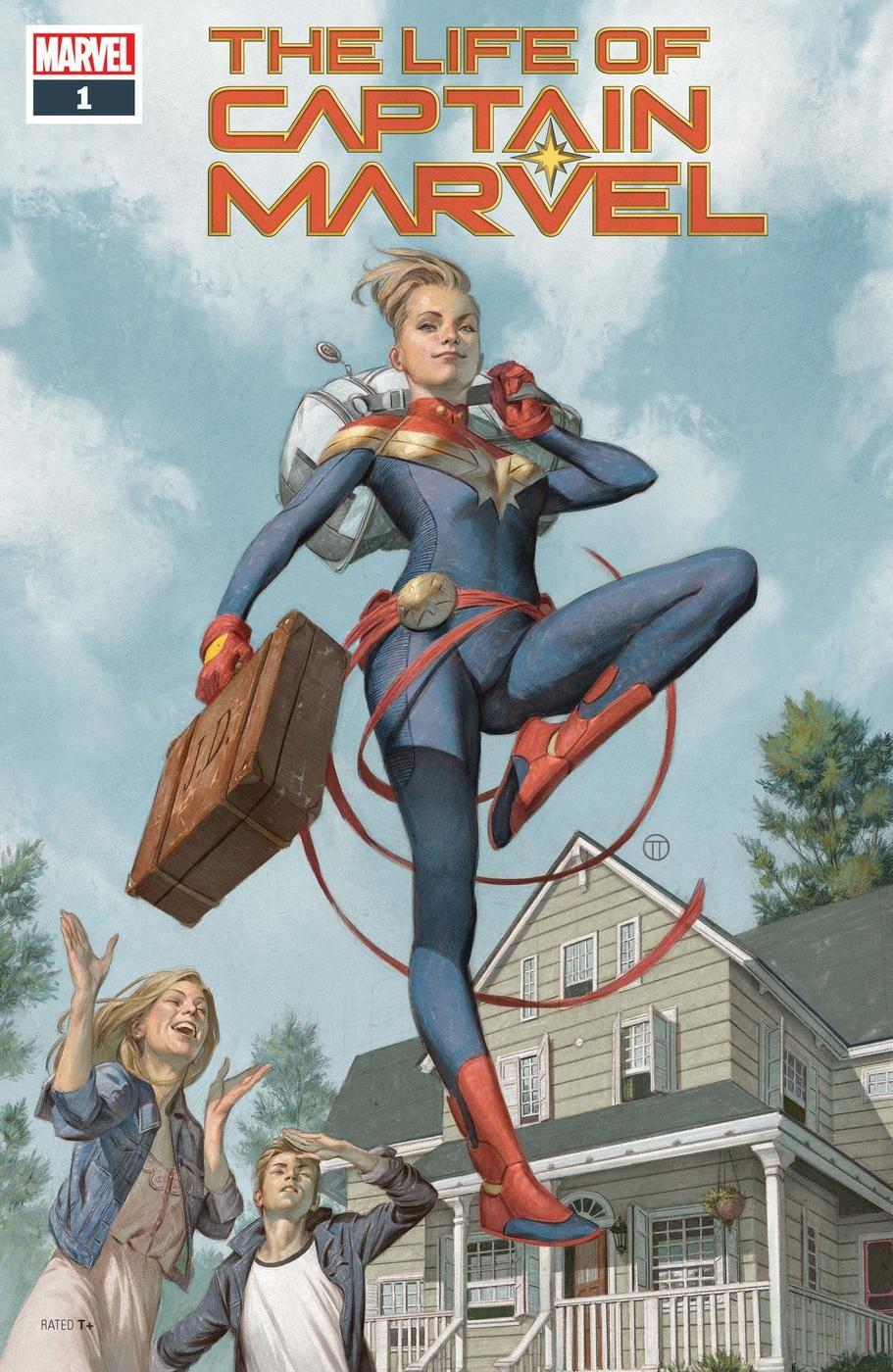 when captain marvel returned to her home town | fandom: captain