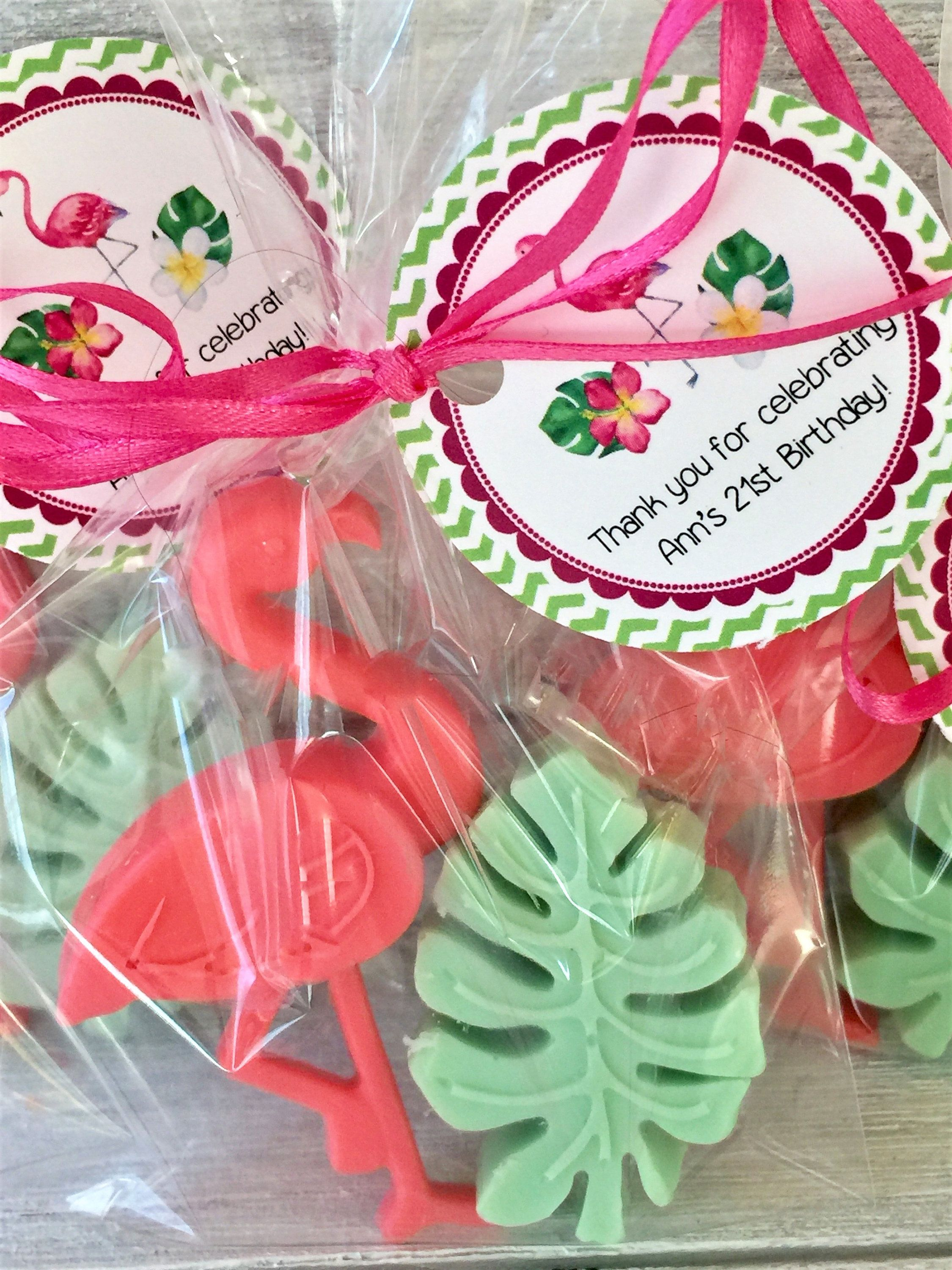 15 Flamingo Soap Party Favors: Wedding Favors, Destination wedding ...