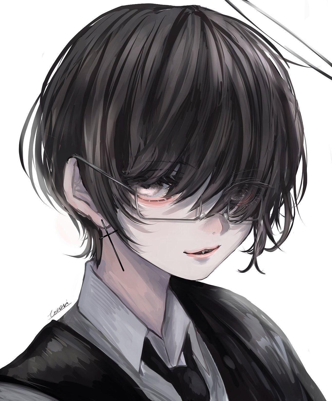 anime boys おしゃれまとめの人気アイデア pinterest brianna price 暗いスケッチ 黒髪 イラスト 病みイラスト