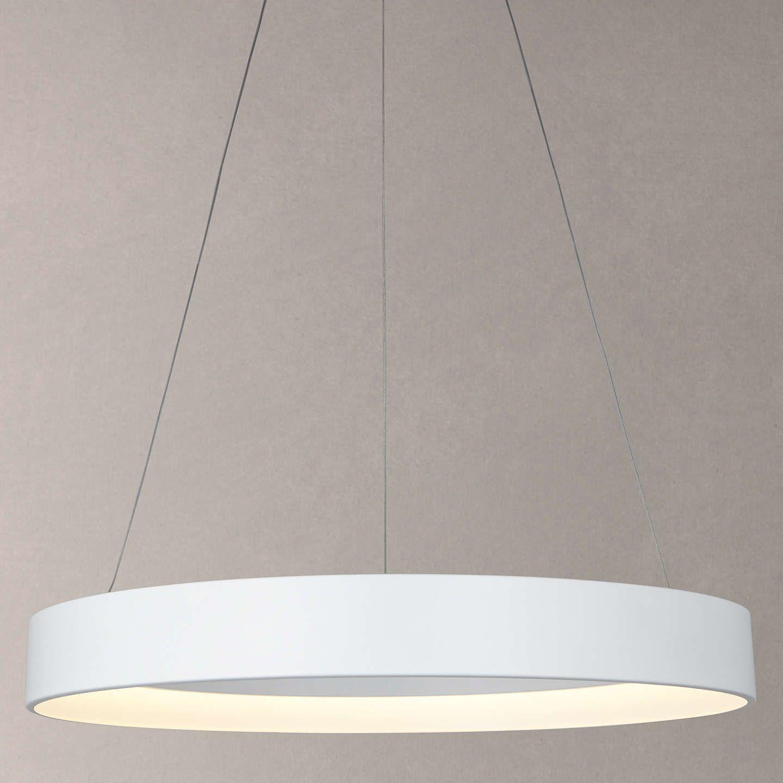 John Lewis & Partners Leif LED Ribbed Hoop Ceiling Light