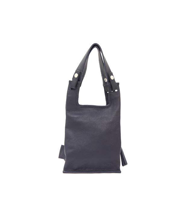Supermarket Bag XS Navy | Lumi Accessories  www.shoplumi.com