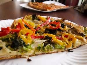 Garbage Pizza (Native New Yorker) - Only a fellow New Yorker will know the ecstasy of eating this kind of pizza