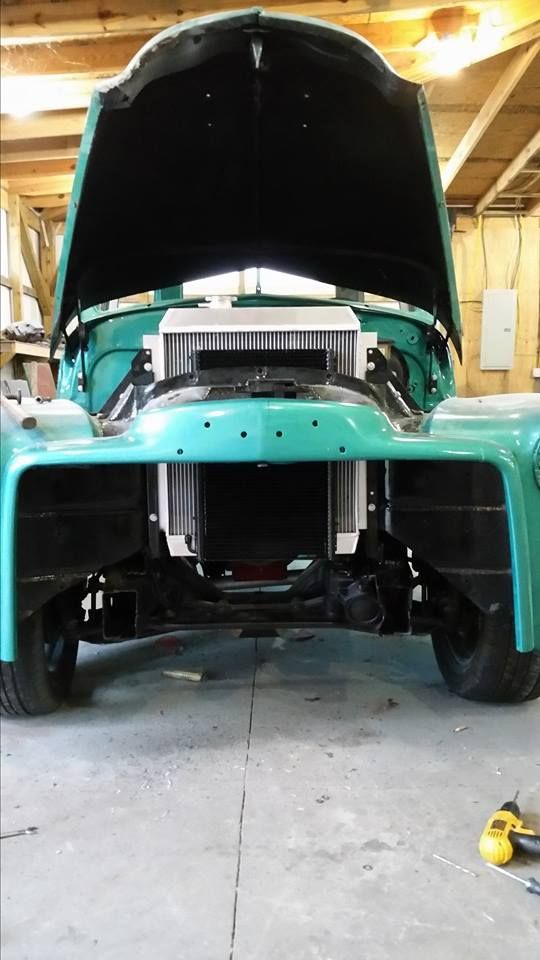 Chev Chevy Chevrolet Advanced Design pickup truck on and S10 frame