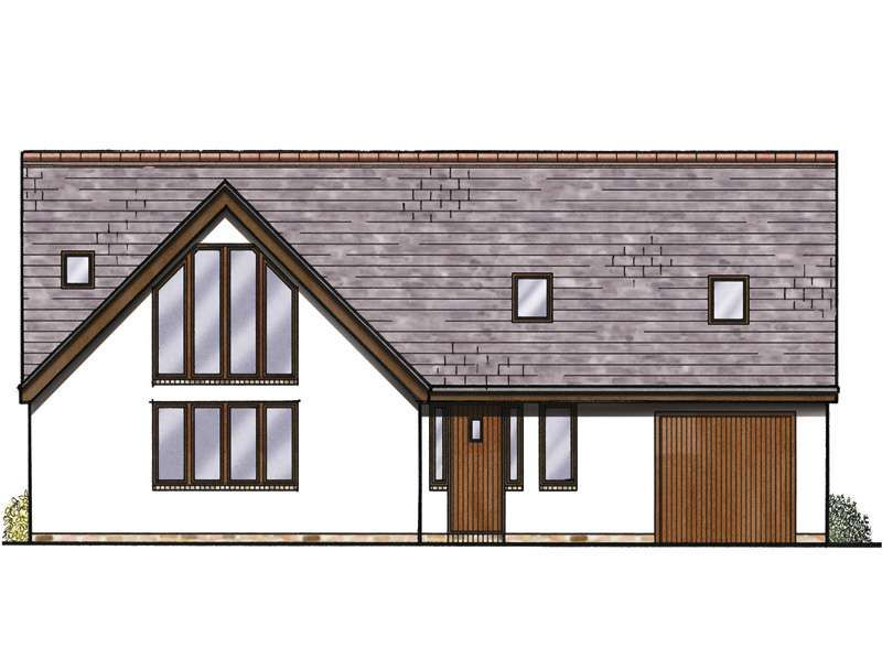 best bungalow construction plans. Bungalow with large roofspace  Homebuilding Renovating barn