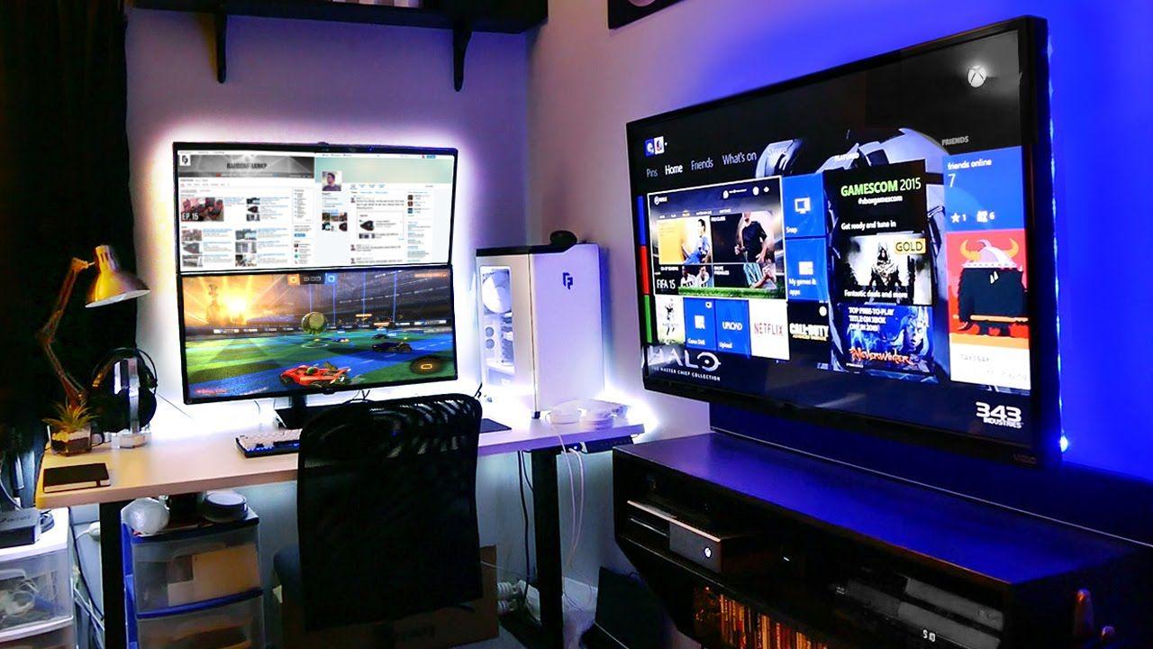 My Insane Gaming Setup Room Tour 2015 Summer Gaming And