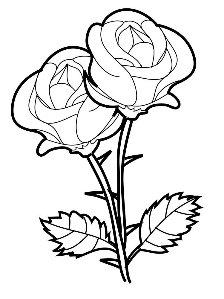 Rose Coloring Pages Pdf Rose Coloring Pages Printable Flower Coloring Pages Mandala Coloring Pages