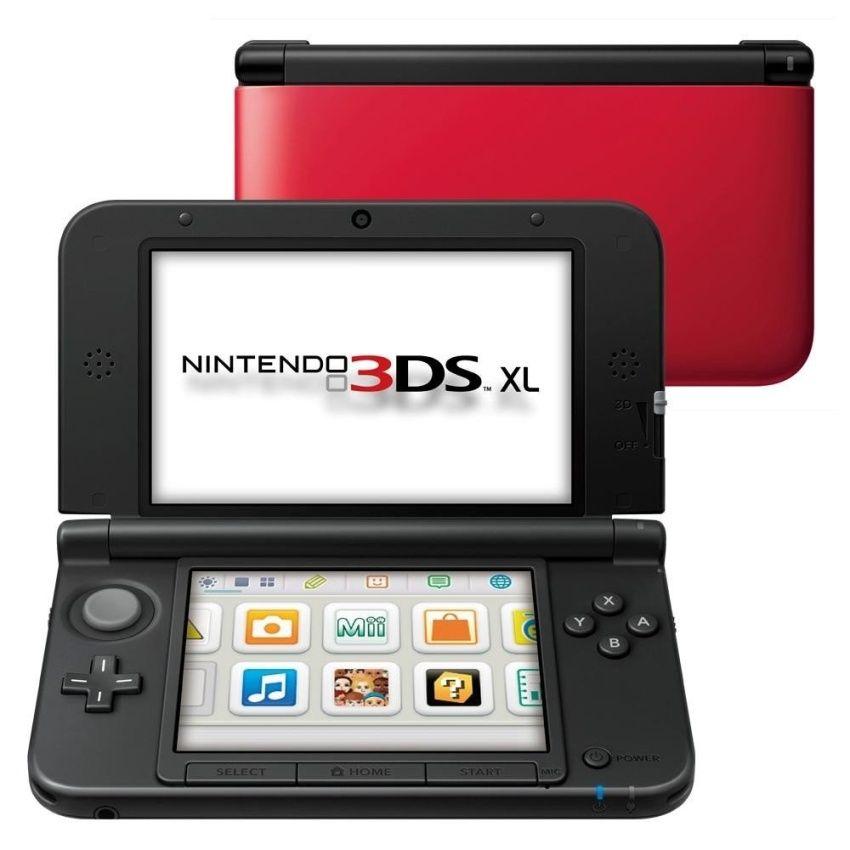 น้ำเข้า Nintendo 3DS XL - Red++Nintendo 3DS XL - Red (4