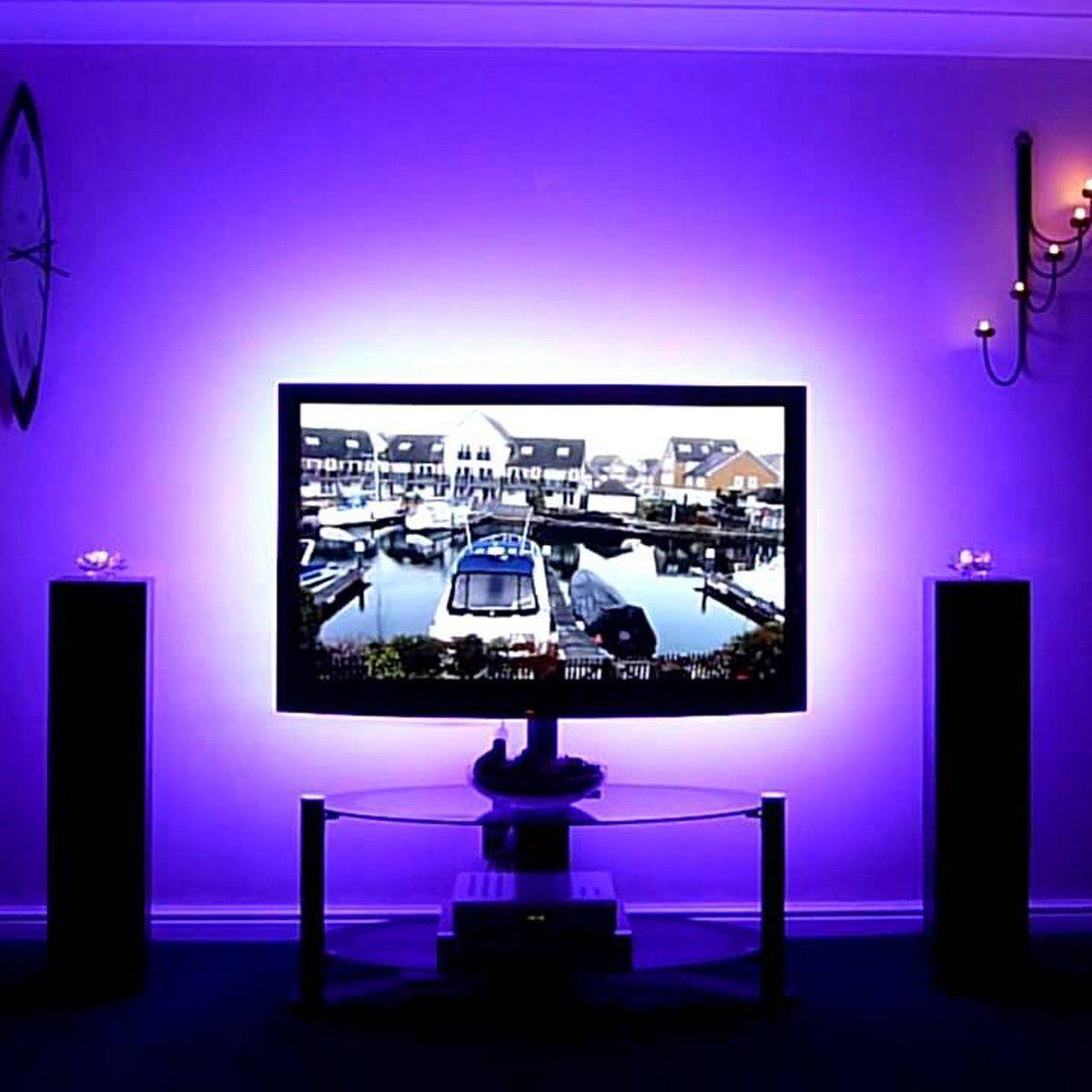 LE 16.4ft Smart Waterproof Color Changing LED Strip Light